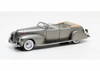 1:43 Lincoln Model K V12 LeBaron Convertible Sedan 1938 Metallic Grey