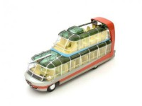 "1:43 автобус CITROEN U55 ""CITYRAMA CURRUS"" FRANCE 1955 Red/Grey"