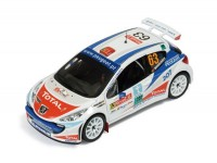 1:43 PEUGEOT 207 S2000 #63 Magalhaes Rally Portugal 2007