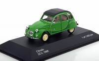 "1:43 CITROEN 2CV ""I Fly Bleifrei"" 1986 Green"