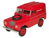 "1:43 LAND ROVER Series IIA SWB Hard Top ""Royal Mail"" 1970 Red"