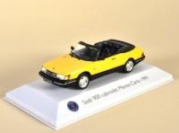 1:43 SAAB 900 Cabriolet Monte-Carlo 1991 Yellow