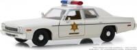 """1:24 DODGE Monaco """"Hazzard County Sheriff"""" 1975  (из к/ф """"Смоки и бандит"""")"""