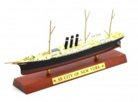 "1:1250 Британский пассажирский лайнер SS ""CITY OF NEW YORK"" 1888"