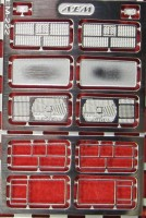 1:43 набор фототравления Фары, фонари ВАЗ 2107