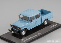 1:43 TOYOTA LAND CRUISER Bandeirante Pick-Up 4х4 1976 Blue