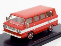 1:43 CHEVROLET Corvair Window Van (микроавтобус) 1963 Red/White