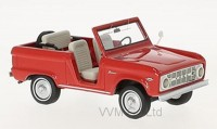 1:43 FORD Bronco 4x4  Roadster 1966 Red