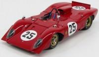 1:18 Ferrari 312P Spyder, Sebring #25, Amon / Andretti 1969 (red)
