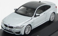 1:43 BMW M4 Coupe (F82) 2014 [с открывающимся капотом] (silver)