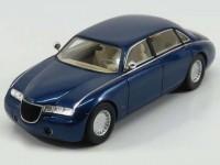 1:43 ASTON MARTIN Lagonda Vignale Concept Car Ghia 1993 Metallic Blue