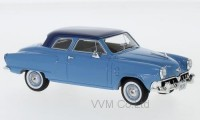1:43 STUDEBAKER Champion Customs Sedan 2-Door 1952 Light Blue/Dark Blue