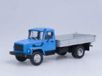 1:43 Горький тип 3309 (двиг. Д-245.7 Diesel Turbo) (синий-серый)