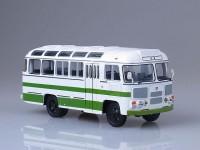 1:43 Павловский автобус 3201 4x4 белый/зеленый