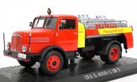 "1:43 IFA S 4000-1 SW 7 заправщик ""MINOL"" 1957 Red/Yellow"