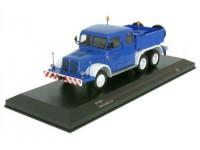 1:43 TATRA 141 6х6  (балластный тягач) 1959 Blue