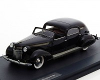 1:43 Chrysler Imperial C15 Town Car by LeBaron по заказу Walter P.Chrysler 1937 Black