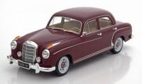 1:18 MERCEDES-BENZ 220S Limousine (W180 II) 1956 Dark Red