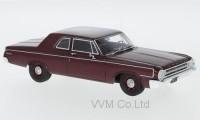 1:43 DODGE 330 Sedan 1964 Metallic Dark Red