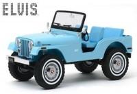 1:18 JEEP CJ-5 4х4 Elvis Presley 1954 Sierra Blue