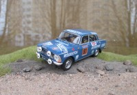 1:43 МОSKVITCH - 412 USSR Vadim Rzechicki - Vadim Bogomolov WRC Rally 1000 Lakes Finland 4-6.8.1972