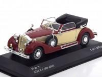 1:43 HORCH 853A Convertible 1938 Dark Red/Beige