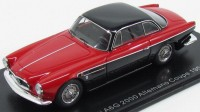1:43 MASERATI A6G 2000 Allemano Coupe 1956 Red/Black