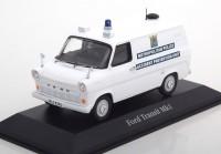 "1:43 FORD Transit Mk1 ""Metropolitan Police"" 1961 White"