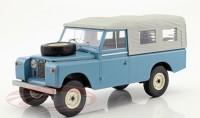 1:18 LAND ROVER 109 Pick Up Series II 4x4 (с тентом) 1959 Blue/Grey