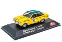 1:43 OPEL Ascona #52 S.Osterberg/I.Edenring Rally Monte Carlo 1973