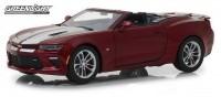 1:24 CHEVROLET Camaro Convertible 2017 Garnet Red Tintcoat