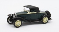 1:43 BUGATTI Type 40 Roadster 1929 Black/Yellow