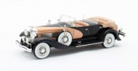 1:43 DUESENBERG SJ J-562-2592 Dual Cowl Phaeton La Grande/Union City Body Co. (открытый) 1935 Black/Beige