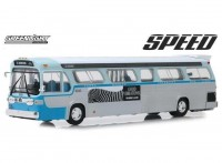 "1:43 автобус GENERAL MOTORS TDH #2525 Los Angeles California Downtown Bus 1960 (из к/ф ""Скорость"")"