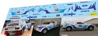 1:43 набор декалей Lada Samara T3 Dakar