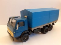1:43 УЦЕНКА КАМский грузовик-5320 синий с тентом