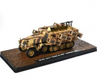 1:43 бронетранспортер Sd.Kfz. 251/1 Ausf.C Западный фронт Германия 1944