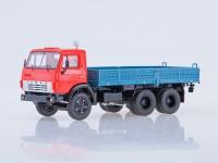 1:43 КАМАЗ-5320 бортовой,красный/синий
