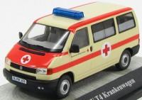 1:43 VOLKSWAGEN T4a Ambulance (немецкий Красный крест) 1990