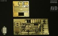 1:43 Общий набор травления для моделей постсоветских МАЗ-5337, 5432, 5516, 5551, 6303, 6422