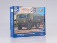 1:43 Сборная модель КАМАЗ-4350 4x4 Мустанг