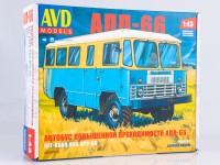 1:43 Сборная модель Автобус повышенной проходимости АПП-66
