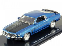 1:43 Ford Mustang Boss 302 1969 (Acapulco blue metallic)