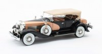 1:43 DUESENBERG SJ J-562-2592 Dual Cowl Phaeton La Grande/Union City Body Co. (закрытый) 1935 Black/Beige