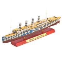 """1:1250 Транспортно-госпитальное судно HMT """"MAURETANIA"""" 1918"""