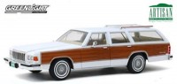 1:18 MERCURY Grand Marquis Colony Park 1989 White with Wood