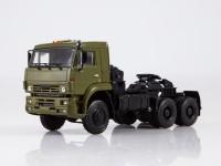 1:43 КАМский грузовик 65225 седельный тягач, хаки