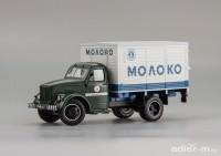 "1:43 Горьковский грузовик тип АФ-51 ""Молоко"""