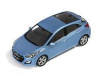 1:43 HYUNDAI i30 5-doors 2012 Blue