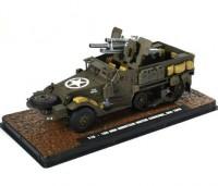 1:43 бронетранспортер САУ T19 c 105mm гаубицей М2А1 армия США 1943